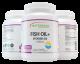 Omega-3 Fish Oil + Vitamin D3 Soft Gels